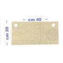 Strati filtranti 40x20 ROVER per filtri Colombo