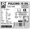 Filtro PULCINO 10 Oil