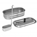Kit vasca inox Nordica 4.5