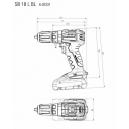 Trapano a percussione Metabo SB18LT compact