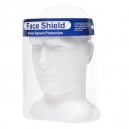 Visiera con protezione frontale in policarbonato