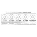 Dischi optional Earthway (5 pz)