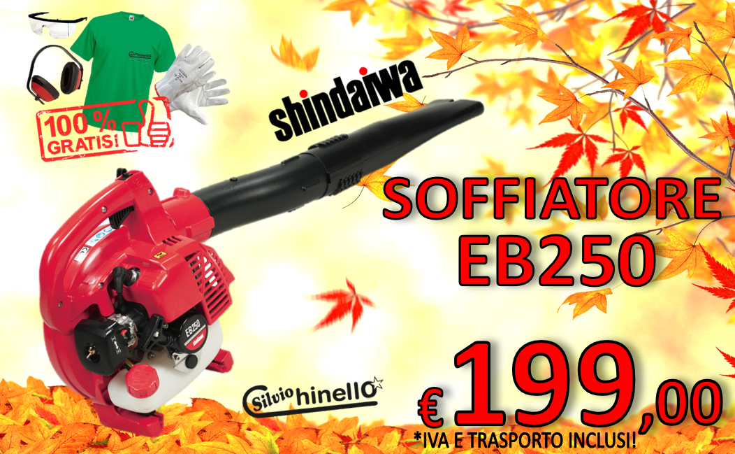 soffiatore shindaiwa eb250