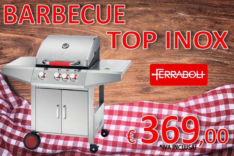 BARBECUE TOP INOX