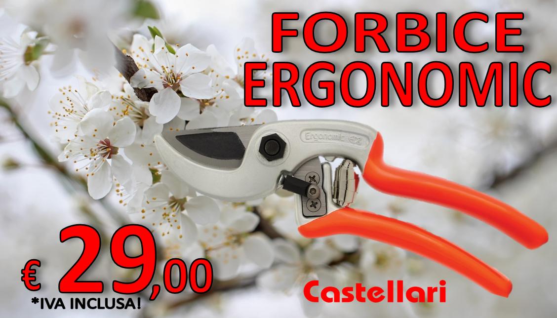 forbice castellari ergonomic